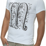 Tricou Barbati Open Jeans Alb 7007
