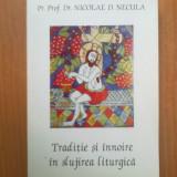 H0c Pr. Prof. Dr. Nicolae D. Necula - Traditie si innoire in slujirea liturgica - Carti ortodoxe