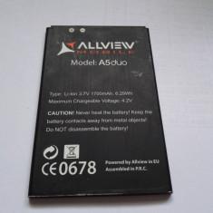 Acumulator Allview A5 duo / Baterie swap / / POZE REALE, Li-ion