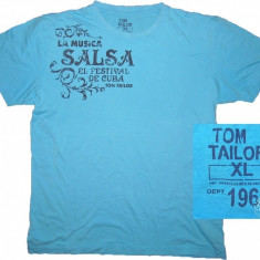 Tricou TOM TAILOR (XL) cod-601417 - Tricou barbati Tom Tailor, Culoare: Alta, Maneca scurta
