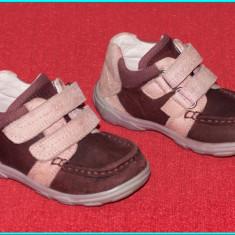 Pantofi copii, Fete, Piele naturala - DE CALITATE _ Pantofi din piele, comozi, frumosi, ELEFANTEN _ fetite | nr. 22