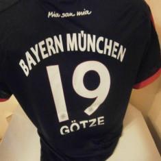 Tricou echipa fotbal, De club, Bayern Munchen, Maneca scurta - TRICOU GOTZE BAYERN MUNCHEN SEZON 2015-2016 MARIME M SI L