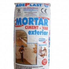 Mortar pentru tencuire si reparatii pentru exterior Mte 35 - 30 kg - Ciment