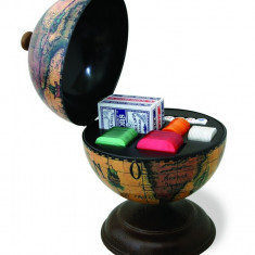 Glob pamantesc mic de birou cu jocuri de noroc 22 cm