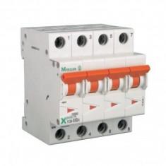 Siguranta automata modulara Moeller-Eaton PLSM-B32/4 curba B - 10 kA - Electromagneti