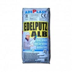 Tencuiala decorativa minerala Edelputz - 25 kg - Ciment