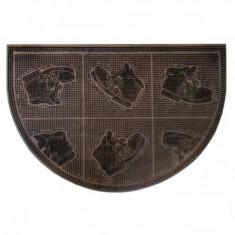 Covor pentru intrare semioval - 40 x 60 cm