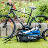 Remorca de bicicleta Qeridoo QX Remorca cargo cu o roata