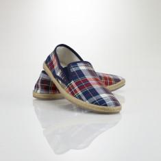 Pantofi barbati - Mocasini Ralph Lauren MADRAS ESPADRILLE 41 42 43