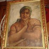 Theodor Cateliu - Portret de femeie - semnat ! - Pictor roman, Portrete, Ulei, Impresionism