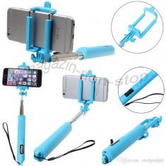 Trepied Aparat Foto - Monopod Selfie Stick Cu Declansator Wireless Si Zoom Monopied M2
