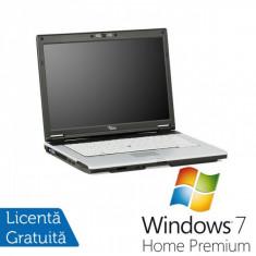Laptop Fujitsu-Siemens - NoteBook Refurbished Fujitsu Siemens Lifebook S7210, Intel Core 2 Duo T8100, 2.0Ghz, 2Gb DDR2, 80Gb SATA, DVD-RW + Windows 7 Home Premium