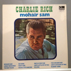 Charlie Rich - Mohair Sam (1966 / Fontana Rec/ Holland) - Vinil/Vinyl/Impecabil - Muzica Country emi records, VINIL