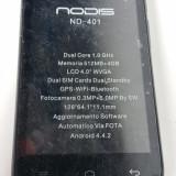 "Telefon DUAL SIM NODIS ND 401 Dual-Core 1Ghz 4GB 5MP 4"" NOU Android 4.2.2 - Telefon mobil Dual SIM, Negru, Neblocat"