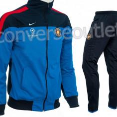 Trening NIKE FCSB - Model Steaua - Bluza si Pantaloni Conici - Pret Special - - Trening barbati, Marime: S, M, L, XL, XXL, Culoare: Albastru, Rosu