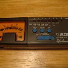 Tuner chitara Bass Boss TU 12