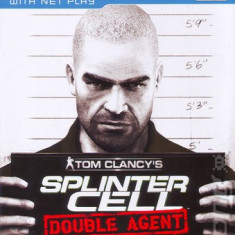 Jocuri PS2 Ubisoft, Actiune, 16+, Single player - Tom Clancy's Splinter Cell: Double Agent - Joc ORIGINAL - PS2