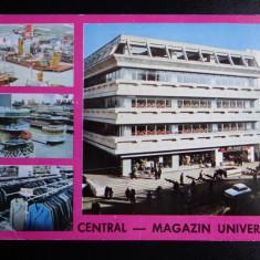 SEPT15-Vedere/Carte postala-Cluj-Napoca-Magazinul Universal Central-circulata - Carte Postala Banat dupa 1918, Printata