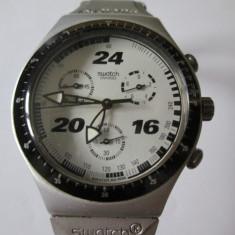 CEAS SWATCH CRONOGRAPH ALUMINIU - Ceas barbatesc Swatch, Sport, Quartz, Cronograf, Analog, 1970 - 1999