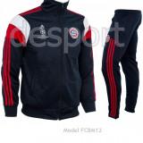 Trening Adidas Bayern Munchen - Bluza si Pantaloni Conici - Pret Special - - Trening barbati, Marime: S, Culoare: Bleumarin
