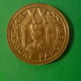 Medalii Romania, An: 1986 - Medalie minerit EXTRACTIE CARBUNE PAROSENI 20 DE ANI 1966-1986