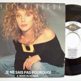 Disc vinil KYLIE MINOGUE - Je ne sais pas pourquoi (format mic 7 - PWL 1988)