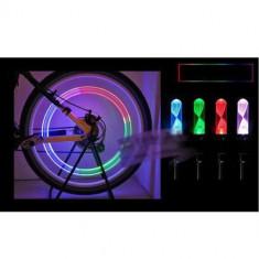 Capac ventil led multicolor, ventil roata, auto, bicicleta, moto