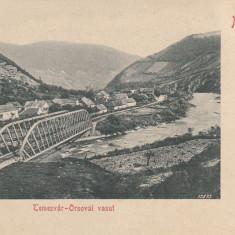 BANAT, MEHADIA, CALEA FERATA TIMISOARA - ORSOVA - Carte Postala Banat pana la 1904, Necirculata, Printata