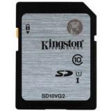Card memorie Kingston, Micro SD, 16 GB - Kingston 16GB SDHC, Clasa 10, UHS-I Secure Digital Card