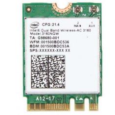 Modul Wireless Laptop Dual Band Intel-AC 3160 (3160NGW) 433Mbps 2.4/5G