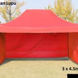 Pavilion cort 3x4.5 m nou structura metal, plafon impermeabil, Numar persoane: 4