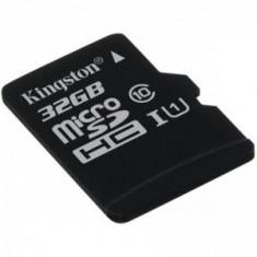 Kingston, 32GB, SDC10G2/32GBSP, Micro Secure Digital Card fara adaptor SD - Card memorie Kingston, Micro SD