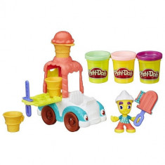 Set Plastilina Play Doh Masina de Inghetata - Jocuri Logica si inteligenta Hasbro