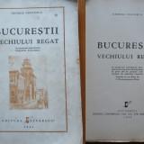 Carte Editie princeps - George Costescu, Bucurestii vechiului regat, cu numeroase fotografii, 1944
