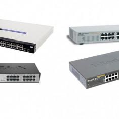 LOT - Switch Asus D-Link DES-1016D / DES-1024D / CISCO SRW224G4 / Allied AT-FS724L