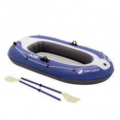 Set barca Carravelle gonflabila KK55 albastru/gri Sevylor - Barca pneumatice