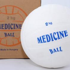 Minge Fitness - Minge medicinala din cauciuc 2 kg - umpluta cu lichid