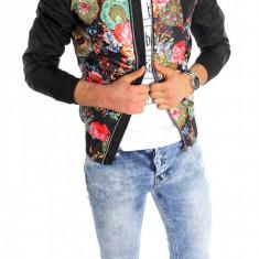 Geaca barbati - Geaca tip ZARA primavara - vara - IMPRIMEU FLORAL - geaca fashion - 6212