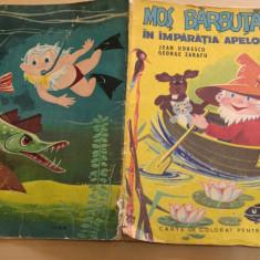 Mos Barbuta in Imparatia apelor - George Zarafu, Jean Udrescu - Carte de colorat