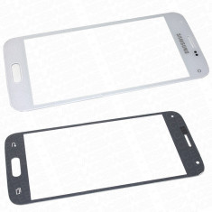 Geam carcasa - Ecran Samsung Galaxy S5 mini SM-G800F negru geam