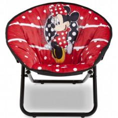 Masuta/scaun copii - Fotoliu pliabil pentru copii Minnie Mouse