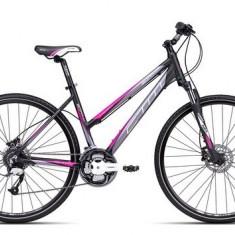 Bicicleta dama CTM Bora 2.0, 2016, cadru 18