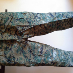 Imbracaminte outdoor - (Supra)Pantaloni ploaie USMC HelikonTEX (vanatoare, airsoft, bushcraft)