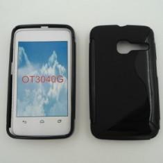 Toc silicon S-Case Orange Dabi Negru - Husa Telefon