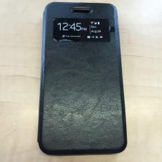 Husa telefon, Negru, Piele Ecologica, Toc, Cu clapeta - Husa ALLVIEW V2 Viper X S-VIEW Black