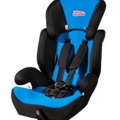 Scaun auto copii grupa 1-3 ani (9-36 kg) - Scaun auto VANORA Blk/Blu Vanora MXZ-EF BLBU, grupele 1, 2, 3, 9-36 Kg, negru-albastru