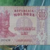 MOLDOVA - 50 LEI 1992, Europa