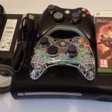 Consola Microsoft Xbox360 120Gb Modat RGH (pe hard) 2 Gamepad jocuri poze reale