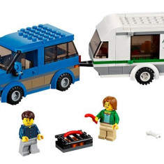 Furgoneta Si Rulota - LEGO City