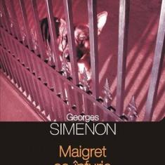 Georges Simenon - Maigret se infurie - 545060 - Carte de aventura